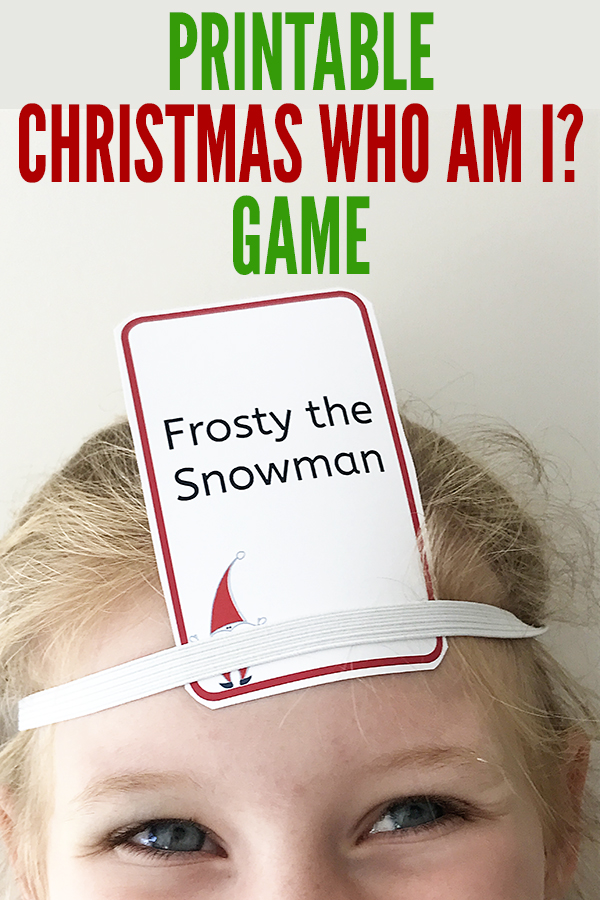 A Fun Christmas Game for Preschoolers