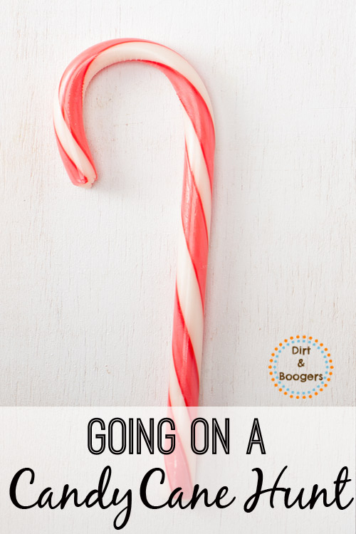 Candy Cane Hunt Game for Christmas