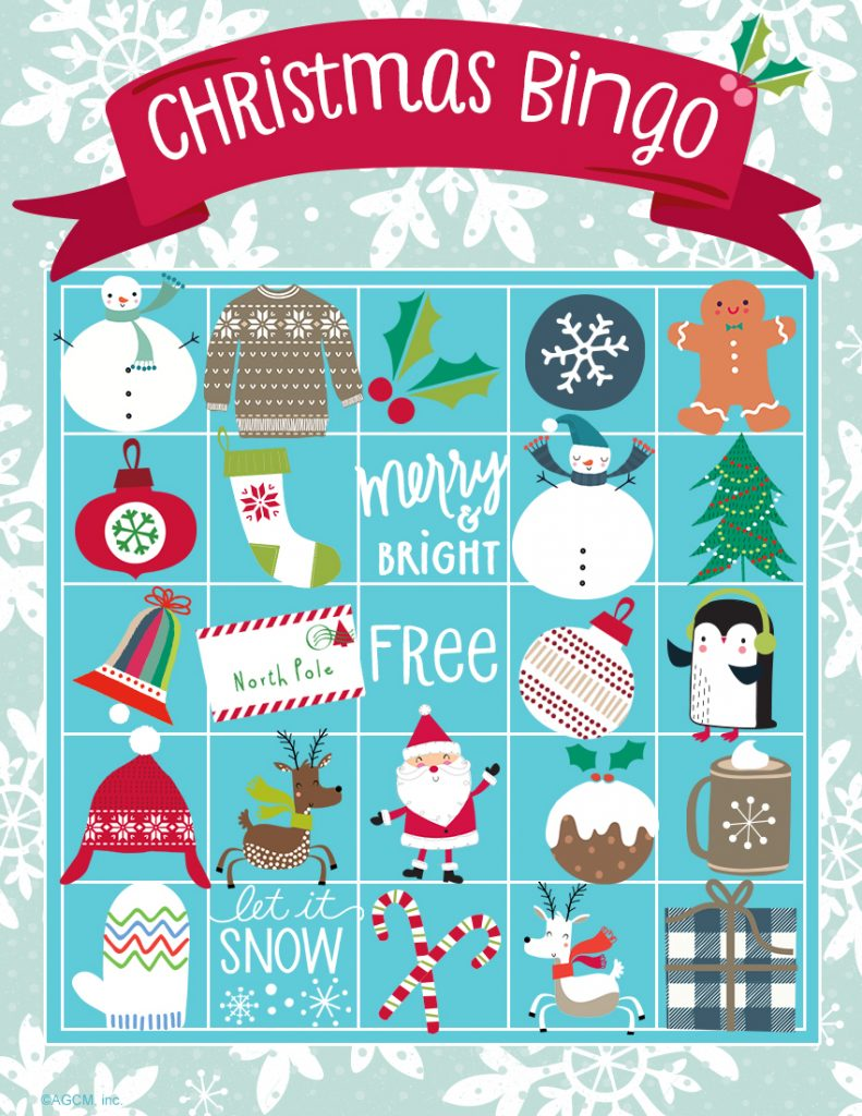 20 Free Printable Christmas Games - Christmas Celebration - All ...