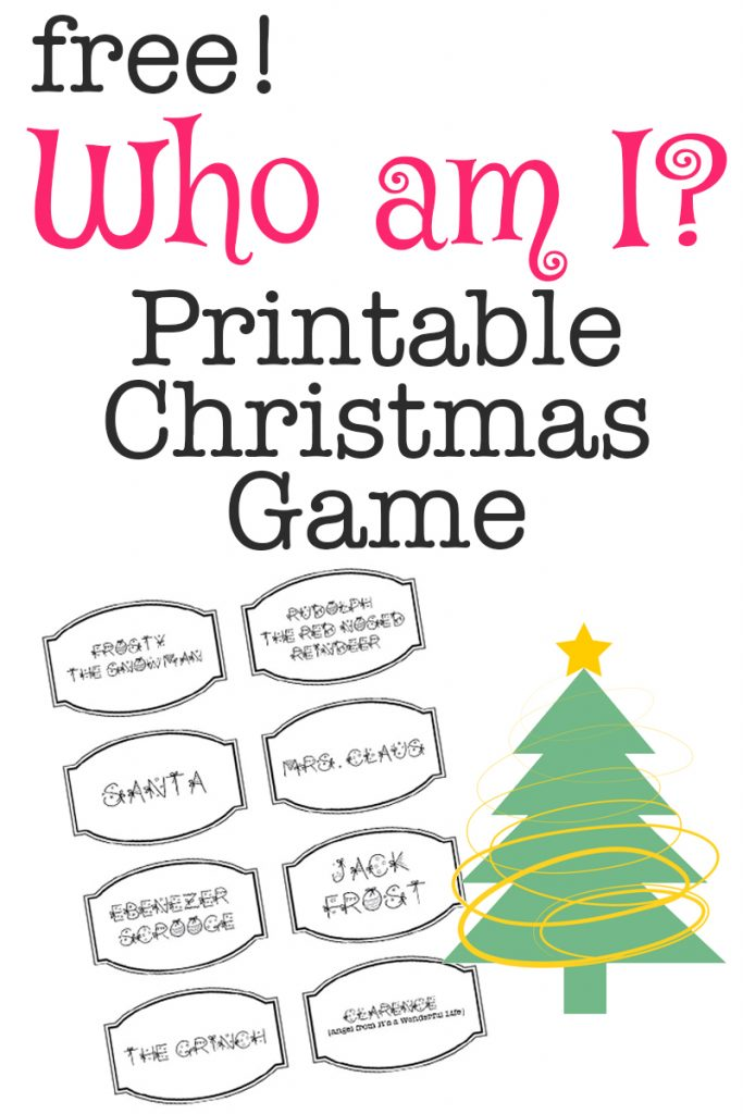 photo about Free Printable Christmas Games for Adults titled 20 Free of charge Printable Xmas Video games - Xmas Social gathering