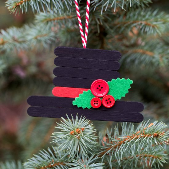 Lollipop Stick Christmas Decorations.Christmas Crafts With Popsicle Sticks Christmas