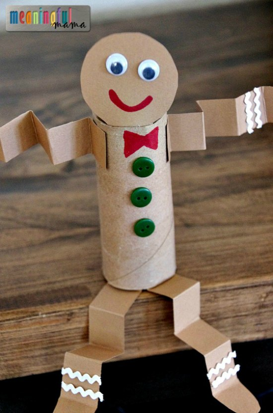 30 Christmas Crafts with Toilet Paper Rolls - Christmas Celebration - All about Christmas