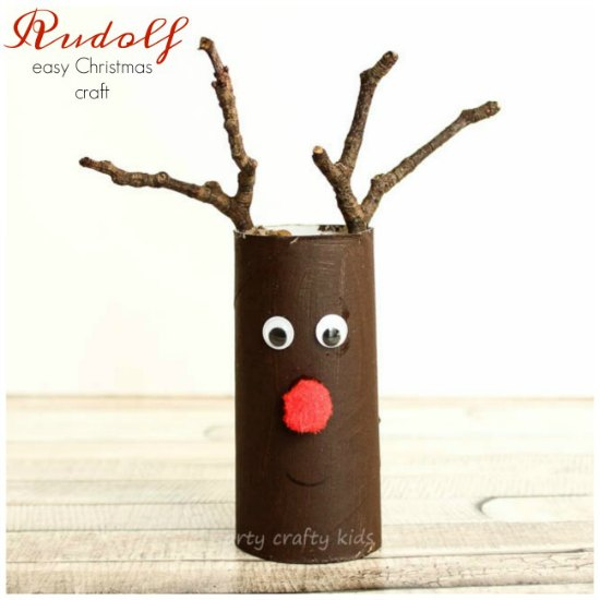 30 Christmas Crafts With Toilet Paper Rolls Christmas Celebration