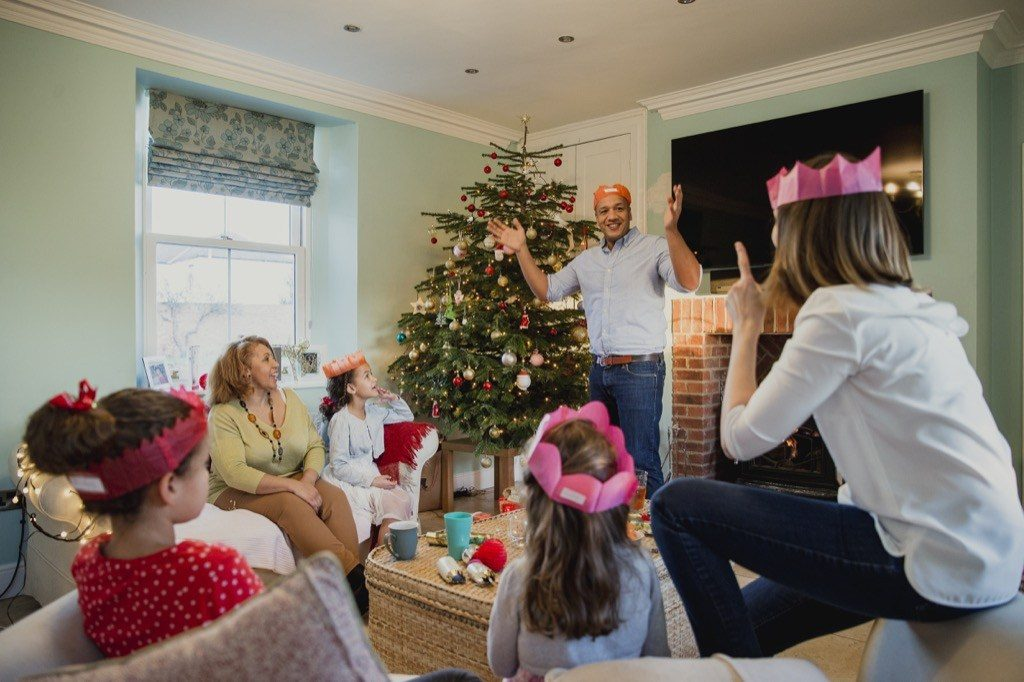 Family Christmas Games