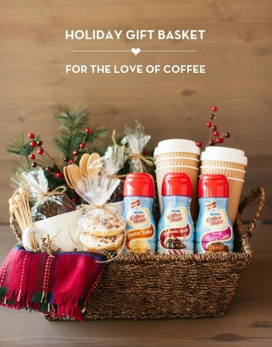 for the coffee connoisseurs gift basket