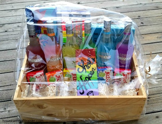 Rum And Jello Dreams Come Alive In This Adorable Gift Basket Use It For The Next Fundraiser Auction Might Break All Time