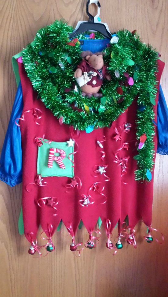 Homemade Christmas Sweaters: DIY Ugly Christmas Sweater Ideas