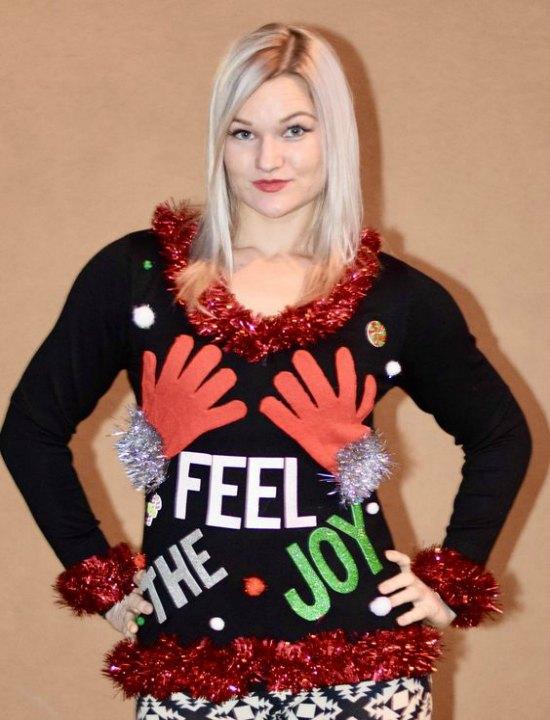 feel the joy ugly christmas sweater - Feel The Joy Christmas Sweater