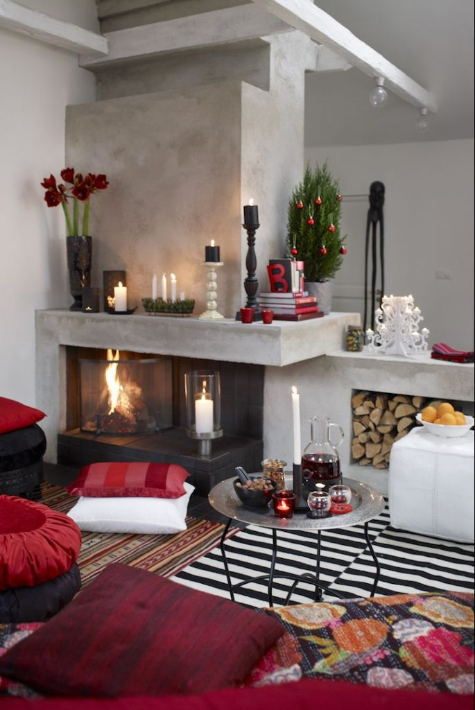 40 beautiful christmas decoration images christmas - How to decorate living room for christmas ...