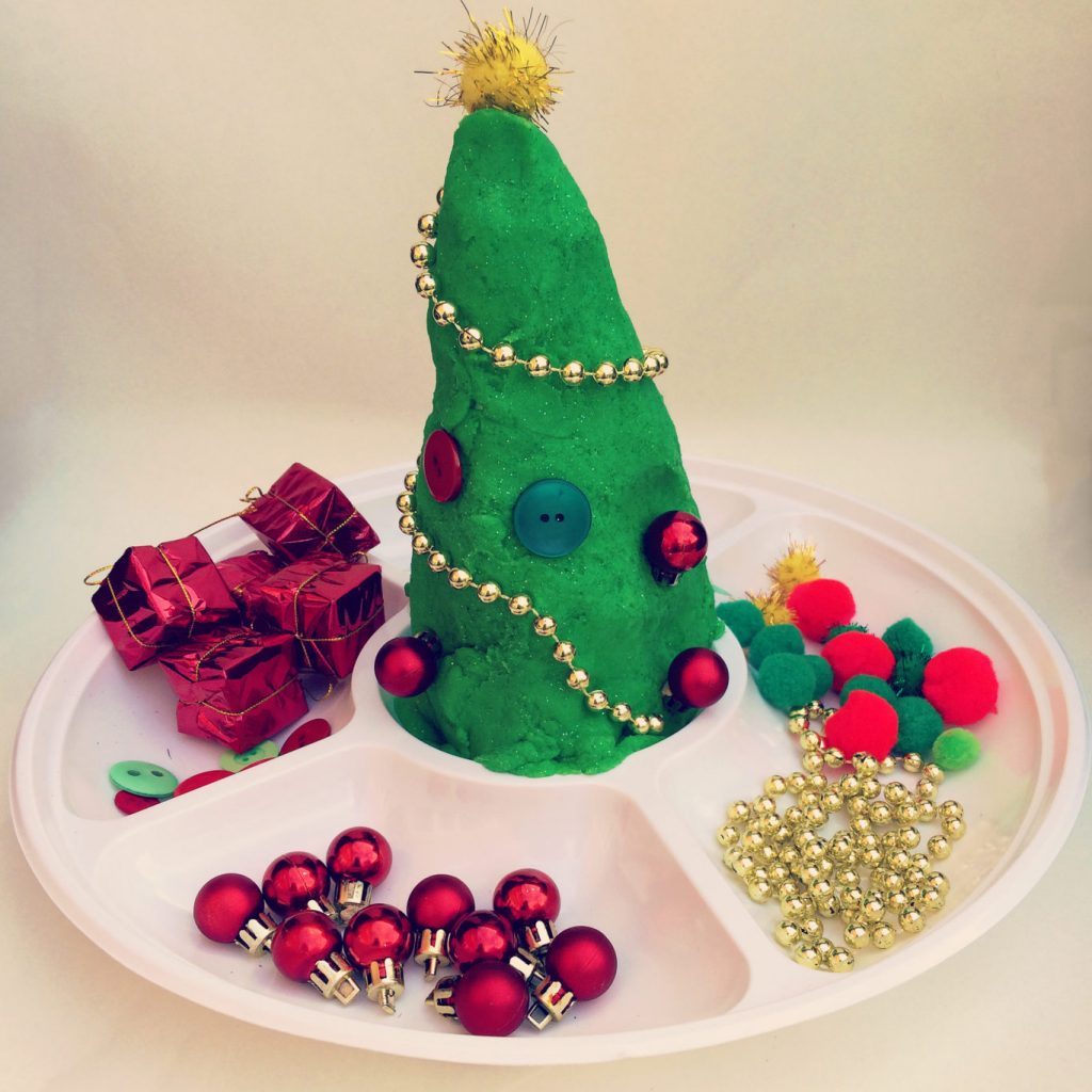 How To Make A Do It Yourself Play Dough Christmas Tree