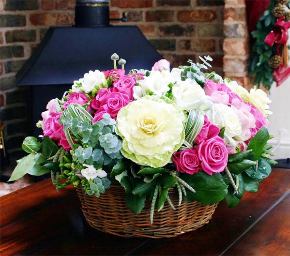 best contemporary christmas flower arrangements christmas