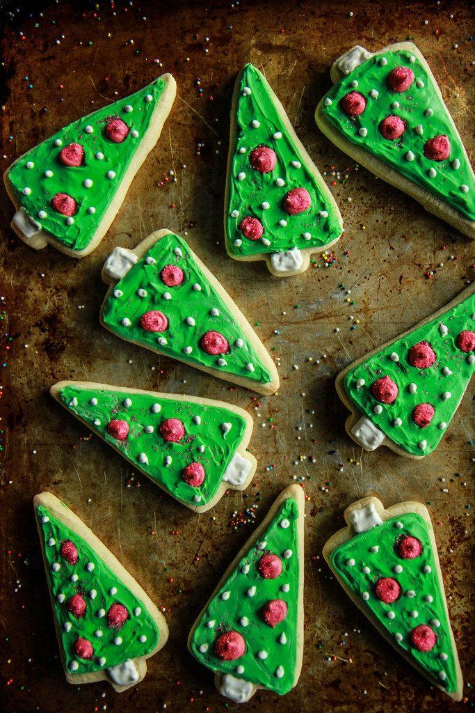Easy Christmas Cutout Cookies Recipes Christmas Celebration All