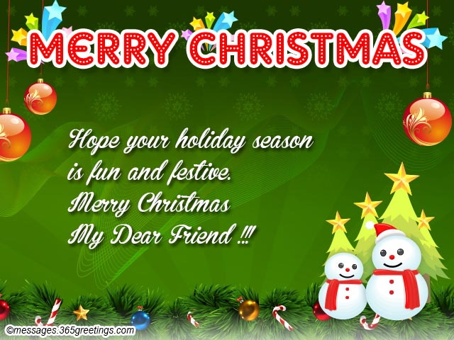 Christmas Wishes for Friends - Christmas Celebration - All about ...