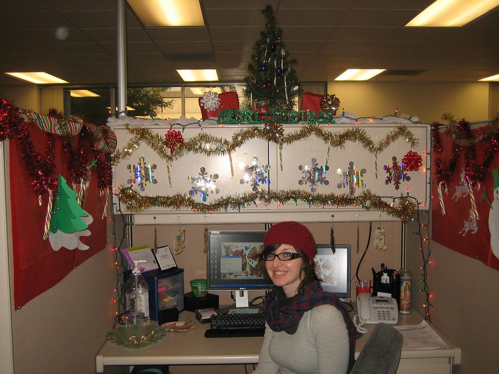 34 Best Christmas Office Decor Images On Pinterest Christmas Celebration All About Christmas