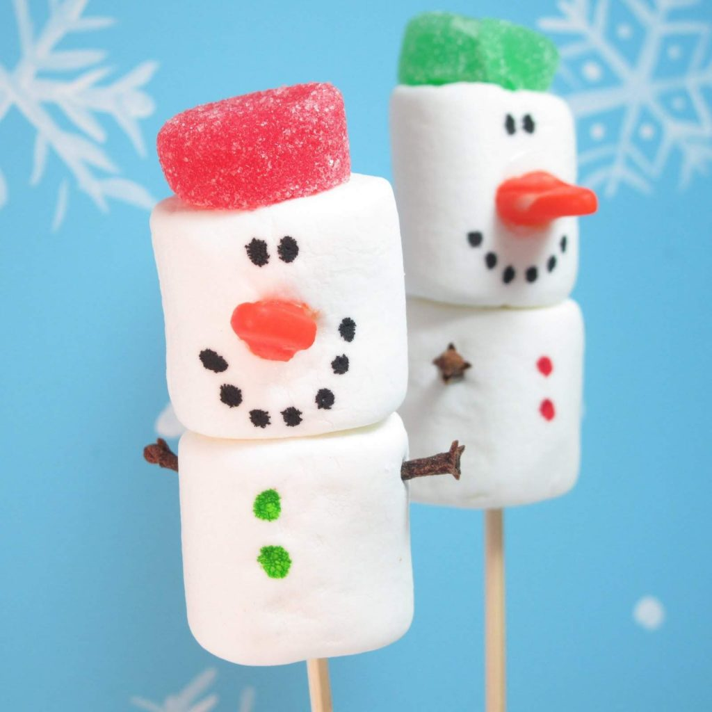 Marshmallow Snowman Recipes