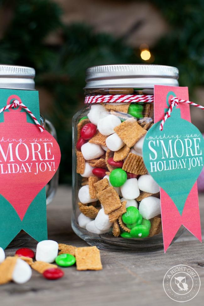 Mason Jar Gifts Ideas for Christmas