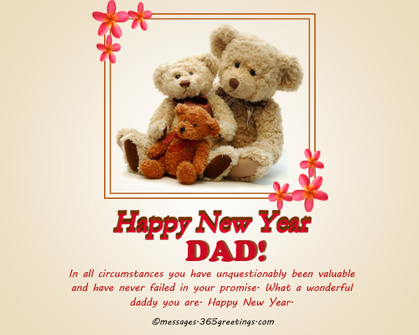 new year messages for dad