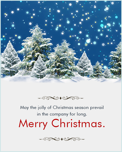 Business Christmas Cards And Corporate