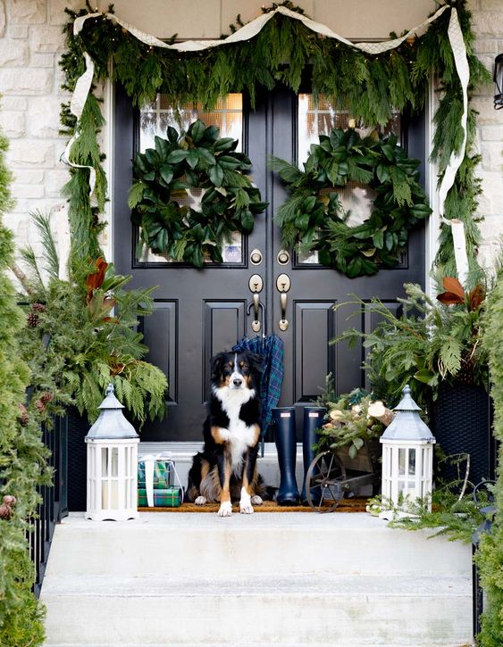 35 Best Christmas Porch Decoration Ideas In 2019 Christmas
