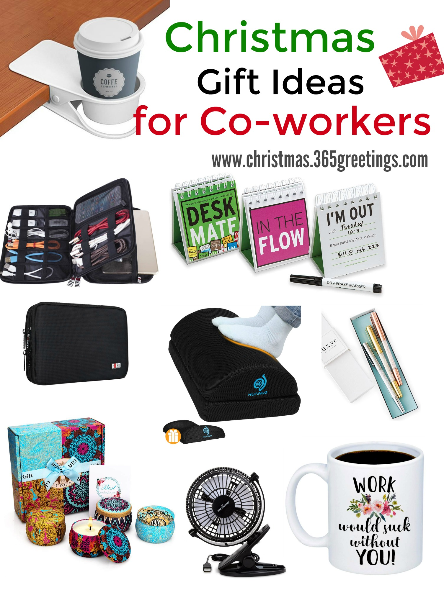 25 Inexpensive Christmas Gifts For Co