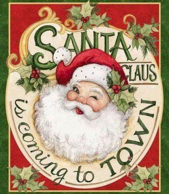 Christmas Message To Santa Stop Here Door Hanger Glitter Xmas Decor Sign /& Chalk