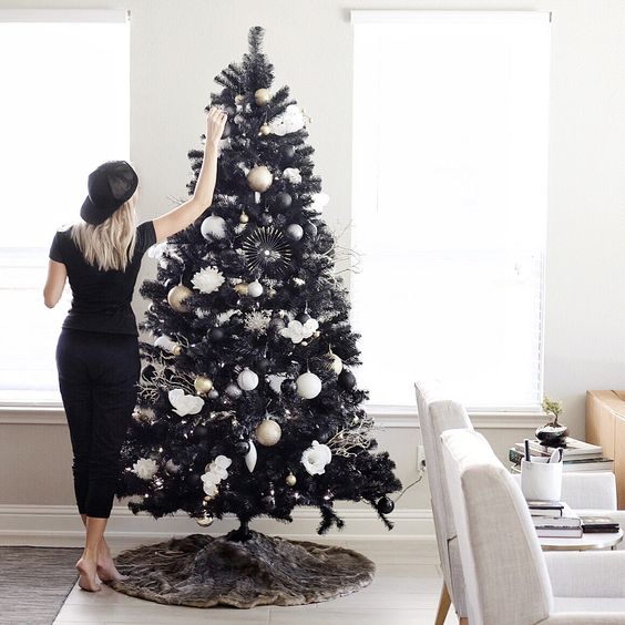 Christmas Tree Decorations For 2019: Best Black Christmas Tree Ideas In Christmas 2019
