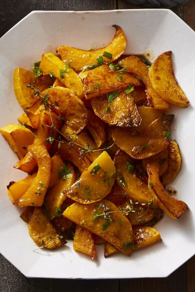 Roasted Butternut Squash with Cider Vinaigrette