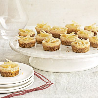 MINI BROWN SUGAR CHEESE CAKE: