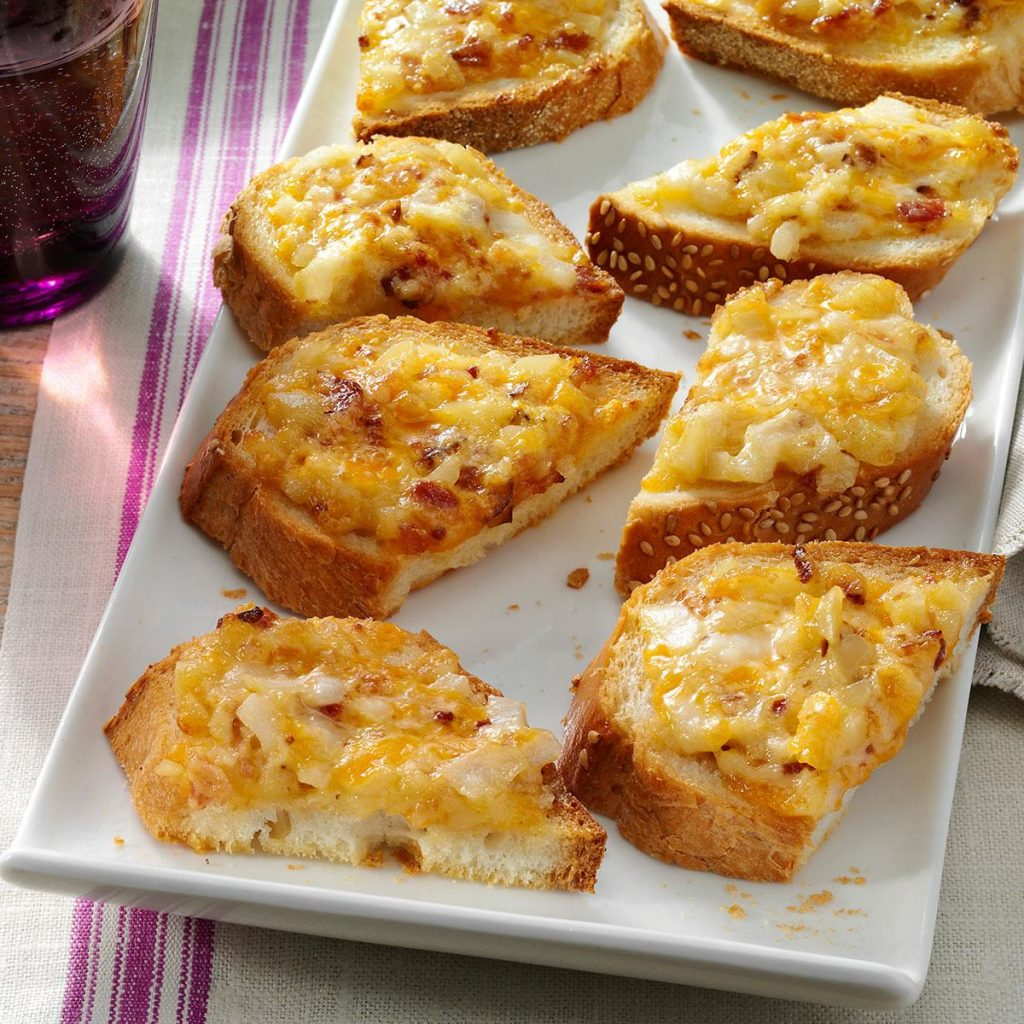 ALMOND CHEDDAR APPETIZERS: