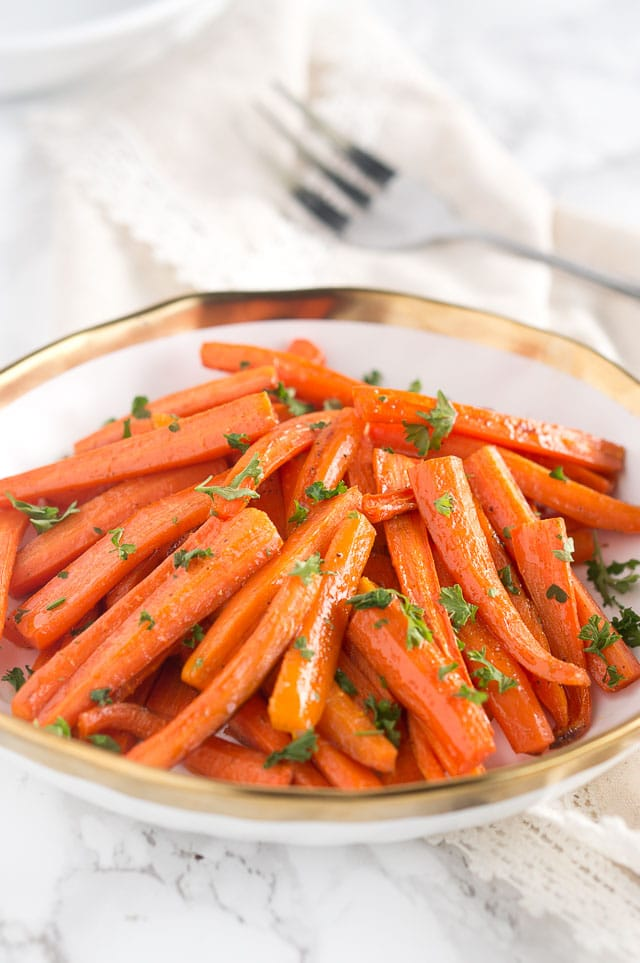 GLAZED CARROTS: