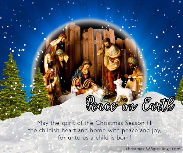 Religious Christmas Messages Christmas Celebration All About Christmas
