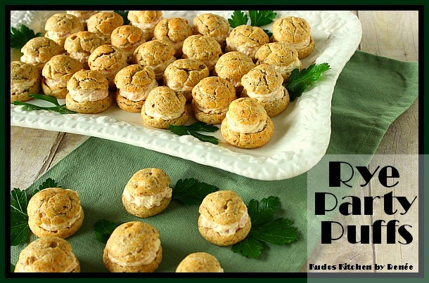 RYE PARTY PUFFS:
