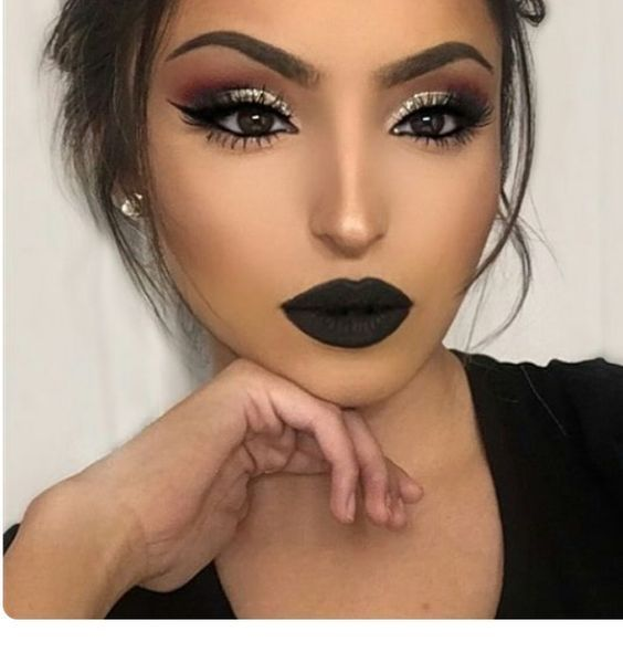 Lovely Lip Makeup Ideas for Christmas 2019 , Christmas