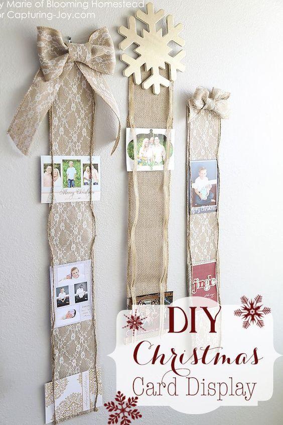 Christmas DIY Card Holder
