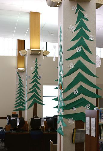 Wall Decor Ideas with Christmas Tree