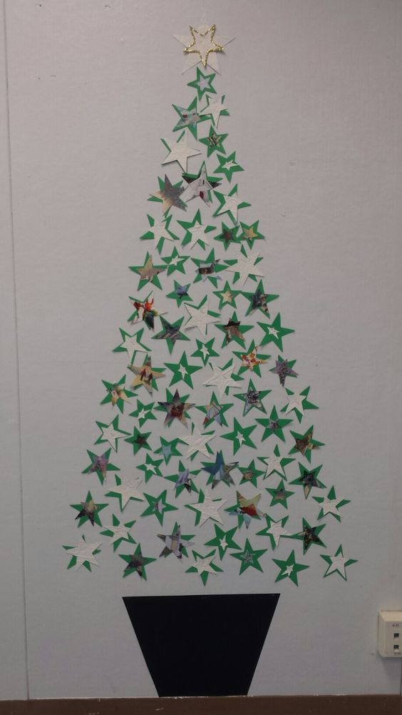 Best Christmas Wall Decor Ideas with Christmas Tree